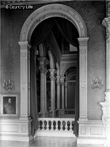 1929-Dorchester House staircase hall, Country Life