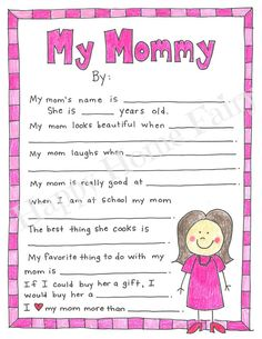 mother's day fathers day diy gifts, fathers day card preschool, fathers day crafts for kids easy day gifts from kids preschool A Mother's Day Project - FREE Printable! - Happy Home Fairy Mothers Day Crafts Preschool, Easy Mother's Day Crafts, Preschool Gifts, Fathers Day Crafts, Diy Crafts, Fathers Gifts, Mummy Crafts, Preschool Projects, Preschool Class