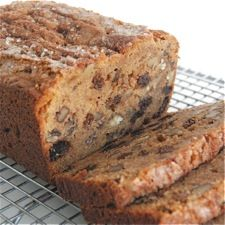 "Easy whole wheat apple-raisin bread --- ""This is the simplest, most basic applesauce bread, yet it's just SO good – crisp crust; AND whole wheat; AND fast and easy to put together…"" Applesauce Bread, Apple Bread, Banana Bread, Apple Loaf, Rasin Bread, Apple Recipes, Bread Recipes, Cake Recipes, Dessert Recipes"