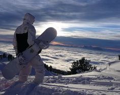 Snowboarder heaven wallpaper | Snowboarding wallpapers