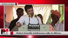 Rahul Gandhi Addresses rally in Mhow