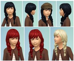 FishtailPics for Girls at Birksches Sims Blog via Sims 4 Updates