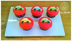 Cupcakes de Autitos
