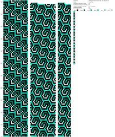 Заковыристый зигзаг 02 (20 , 75, 130 и тд) с градиентным вариантом раскраса (20) http://crochetbeadpaint.info/raports/2001998
