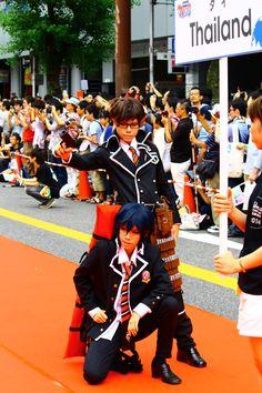 at the 2014 World Cosplay Summit in Nagoya, Japan!