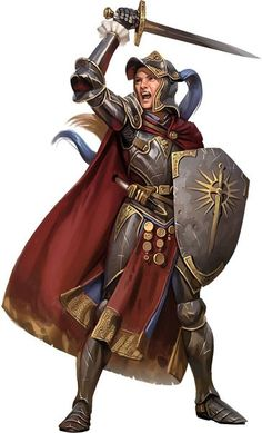 f Paladin Plate Armor Shield Cloak Sword Dagger Temple urban City lg Dnd Characters, Fantasy Characters, Female Characters, Female Armor, Female Knight, Character Portraits, Character Art, Character Concept, Rpg Cyberpunk
