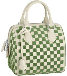 Louis Vuitton Spring/Summer 2013 Damier Cubic Speedy Cube PM