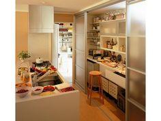 パントリー キッチン 収納 イメージ