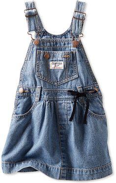 Osh Kosh Baby Girls' Denim Overall Dress
