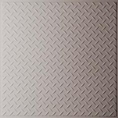 Diamond Plate Latte Ceiling Tiles