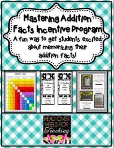 Addition Bundle {Everything to memorize those addition facts!}