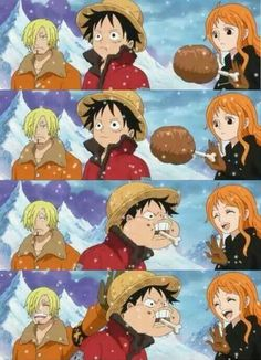 Find images and videos about funny, anime and one piece on We Heart It - the app to get lost in what you love. One Piece Meme, Watch One Piece, One Piece Funny, Nami One Piece, One Piece Comic, One Piece World, One Piece Fanart, One Piece Pictures, One Piece Images