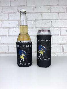 Salty Bitch Slim Can Neoprene or Standard Neoprene Can Coolers Don& Be A Salty Bitch Funny Gift Morton Salt White Claw Skinny Cans by SipHipHooray Morton Salt Girl, Rehearsal Dinner Favors, Custom Wedding Favours, Book Table, Custom Napkins, Event Banner, Wedding Cups, Couple Shower, Christmas Photo Cards