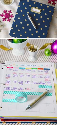 12 DIY Binder Organization Projects - GleamItUp