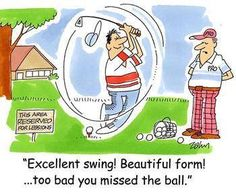 Golf cartoon #humor