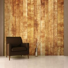Scandinavian Wood Wallpaper Mural