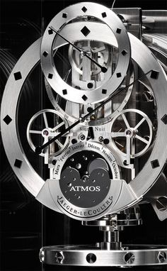 The Atmos clock movement - powered by temperature changes in the environment - 80 year anniversary and still going strong!
