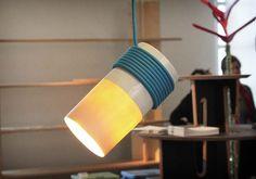 Kaa pendant lamp by Florent Degourc
