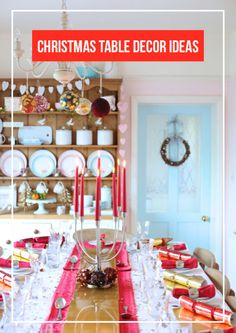 Four Ways To Style Your Dining Table For Christmas