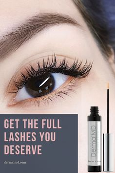 Get the lashes you deserve and start growing those lashes naturally!