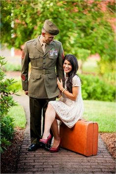 Le Magnifique Blog: A Military Engagement Session by Imago Dei Photography