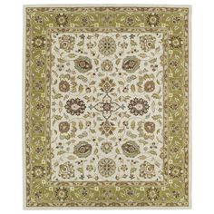 Hand-tufted Anabelle Beige Wool Rug (8' x 11') - Overstock™ Shopping - Great Deals on 7x9 - 10x14 Rugs