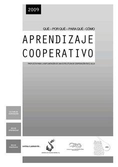 """""""Aprendizaje cooperativo"""" según Educa2 y a través de Scoop.it, es una propuesa para la implantación de una estrucutra de cooperación en el aula."""