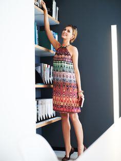 Neckholder Kleid –Schnittmuster Inspirationen zum Selbernähen von burda style