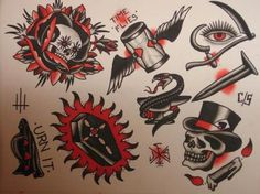 Love old school. Traditional Flash, Traditional Tattoos, Sailor Fashion, Tattoo Inspiration, Old School, Tatting, Art Drawings, Ink, Tattoo Flash