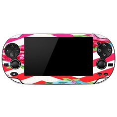 Zigzag Roses Bright Flowers Colorful Playstation Vita Vinyl Decal Sticker Skin by Debbies Designs -- You can get additional details at the image link.Note:It is affiliate link to Amazon.