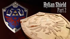 How to make Link's Hylian Shield PART 2 - Skyward Sword Zelda Cosplay