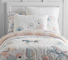 Clara Horse Quilted Bedding #pbkids
