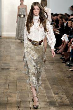 Ralph Lauren Spring 2011 Ready-to-Wear Fashion Show - Yulia Kharlapanova