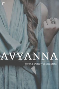 Avyanna meaning Strong Powerful Beautiful American names A baby girl names A baby names female names whimsical baby names baby girl names tr