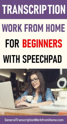 Transcription Work from Home for Beginners With Speechpad Transcription Training, Transcription Jobs For Beginners, Make Money Online, How To Make Money, Medical Coding, Job Work, Work From Home Tips, Making Extra Cash, Budgeting Finances