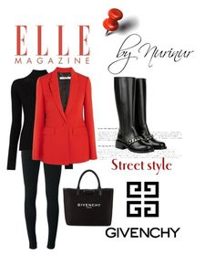 """""""The Red GIVENCHY"""" by nurinur ❤ liked on Polyvore featuring Givenchy and Misha Nonoo"""