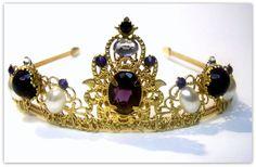 Medieval Crown  Renaissance Crown Medieval by TreasuresForAQueen, $85.00