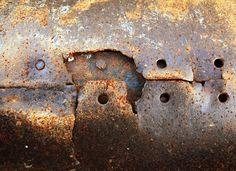 Eroded rusted texture by Patrick Hajzler