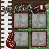 Easy Football Scrapbook Pages - Bing Images