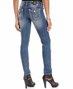Miss Me Jeans, Skinny Light-Wash