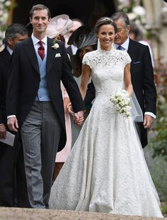 Pippa Middleton and James Matthew from Pippa Middleton & James Matthews' Wedding Here come the bride and groom!