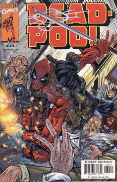 Deadpool Vol. 2 # 34 by Dan Norton