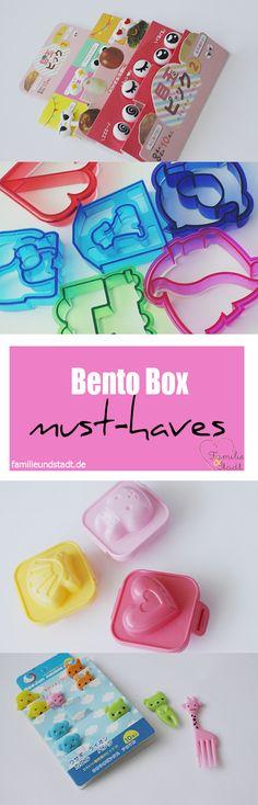 Bento Boxen Zubehör für Kinder - Sandwich Cutter, Eierformer, Food Picks