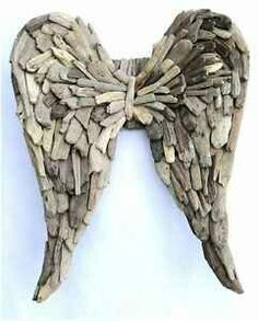 Angelwings from driftwood