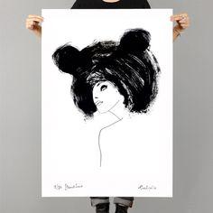 Image of BEAR HAIR BY EVA HJELTE, woo shop