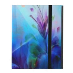 Sunset Painterly Floral iPad Powiscase