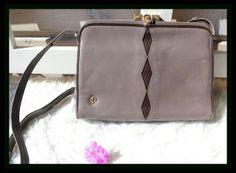Vintage Handtasche Leder von *Coco Mademoiselle* auf DaWanda.com