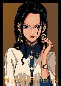 nico_robin one_piece sheru_maru. Nico Robin, Zoro And Robin, One Piece Anime, One Piece Fanart, Nami Swan, The Pirate King, 0ne Piece, One Piece Images, Anime Costumes
