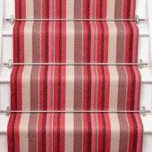 Flatweave Runners - Roger Oates Floors and Fabrics Loft Stairs, House Stairs, Carpet Stairs, Hallway Colours, Striped Carpets, Downstairs Loo, Lifestyle Store, Carpet Design, Rowan