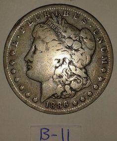 1890 Morgan Silver Dollar coin circulated by RolandDressler, $50.00